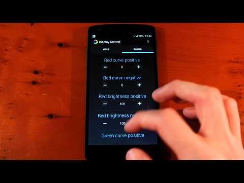 Video of Nexus Display Control (ROOT)