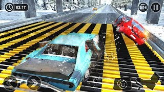 Speed Bump Car Crash Simulator Beam Damage Drive (by Game Bunkers) Android Gameplay [HD]