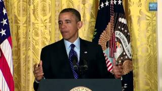 President Obama's Announcement of the BRAIN Initiative