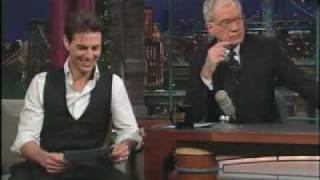 Top Ten List TOM CRUISE at Late Show