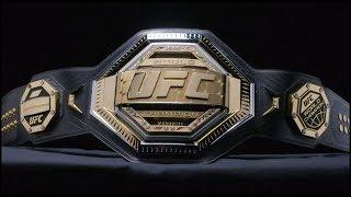 UFC Unveils New Legacy Championship Belt