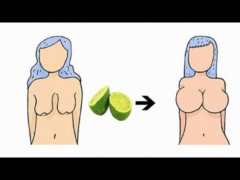 Implant los pechos de propias telas