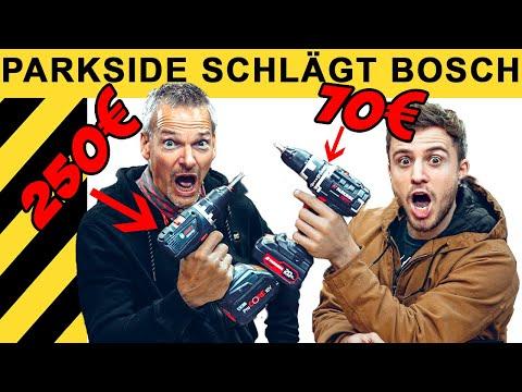 PARKSIDE SCHLÄGT BOSCH - DER GROSSE VERGLEICH! | WERKZEUG NEWS #25