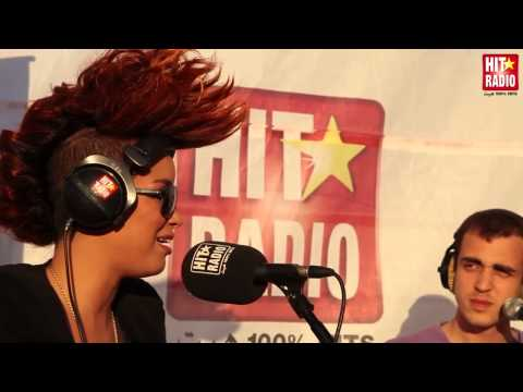 EVA SIMONS REPOND A NOS QUESTIONS EN DIRECT DU MGP SUR HIT RADIO