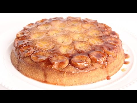 Bananas Foster Upside Down Cake Recipe – Laura Vitale – Laura in the Kitchen Episode 955