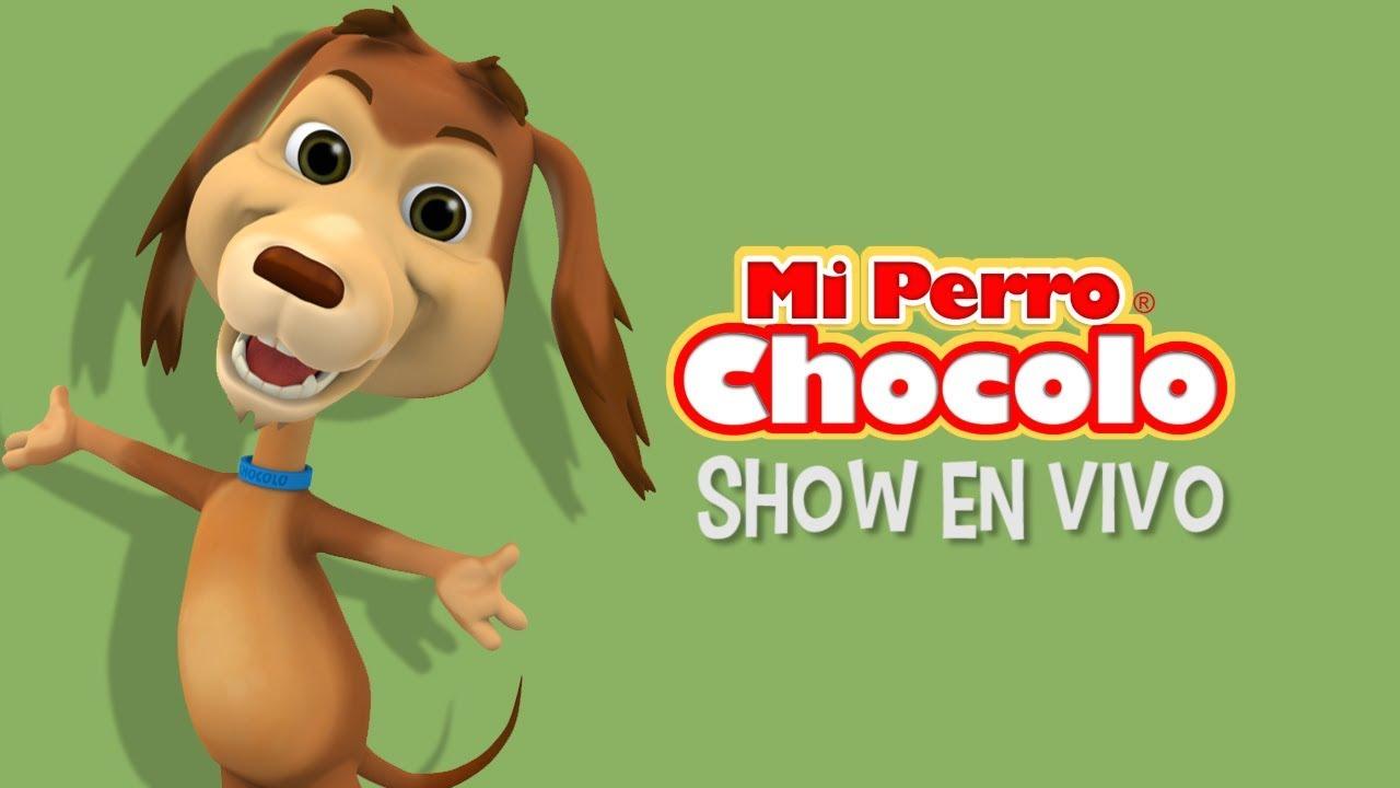MI PERRO CHOCOLO - eL MONITO MAYOR SHOW EN VIVO - CANCIONES INFANTILES
