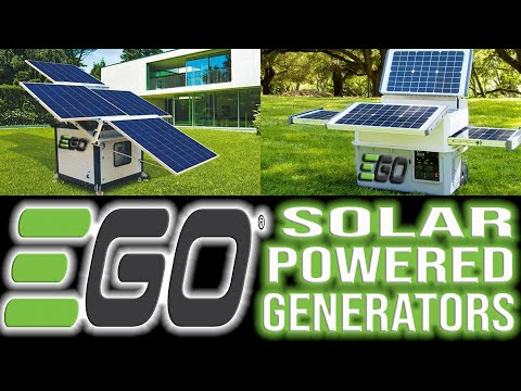 New Solar Powered Generator From EGO Tools UPDATED INFORMATION