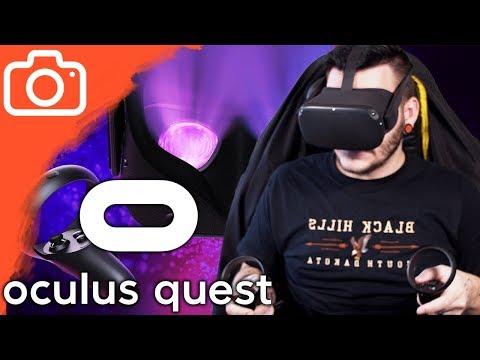 První zkouška Oculus Quest!
