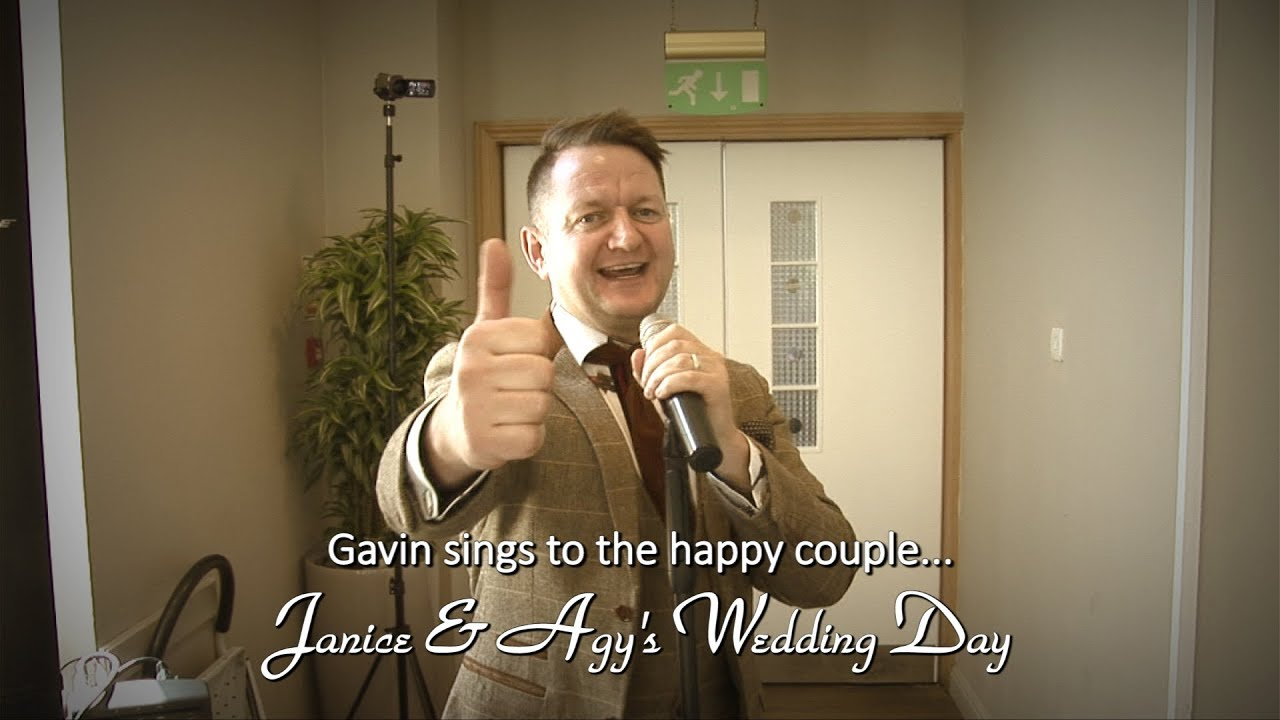 Janice & Agy's Wedding: Gavin sings - Teaser Video #1