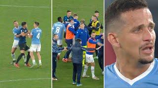 Did Luiz Felipe go too far? Tempers flare as Lazio beat Inter 3-1 in Serie A