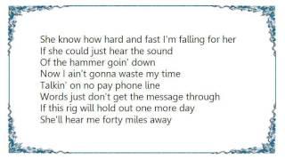 Chris Knight - The Hammer Going Down Lyrics