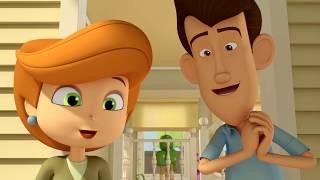 Макс Грин и инопланетяне –Один день из жизни Терезы  -  серия 47 - Мультфильм для детей – НЛО