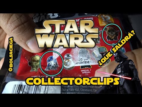 Star Wars collector clips | Unboxing