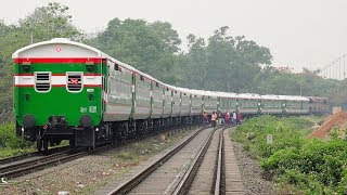 Banalata Express- Dhaka to Rajshahi Non-stop new train 2019 of Bangladesh Railway