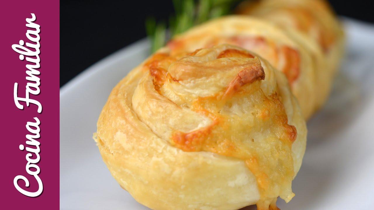 Sándwich de jamón y queso enrollado | Javier Romero