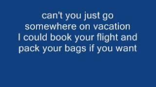 simple plan - vacation lyrics