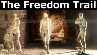 "Fallout 4 - How To Find ""The Freedom Trail"" - Freedom Trail Railroad Location"