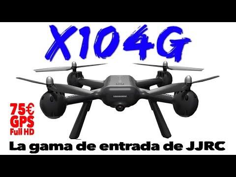 X104G: la gama de entrada de JJRC con GPS y cámara 1080P