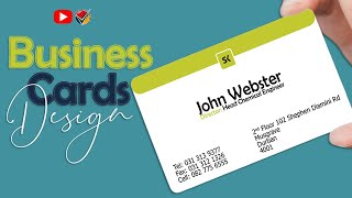 6137FREE LESSON |Make Your Client Happy With Your Business Card Creativity