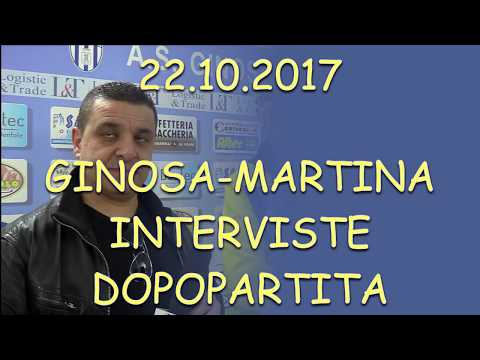 Preview video GINOSA-MARTINA Le interviste del dopopartita