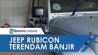 Vespa Piaggio hingga Jeep Rubicon Milik Anak Bambang Soesatyo Terendam Banjir