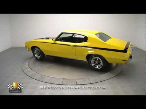 Beautiful Yellow 1970 Buick GSX Muscle Car