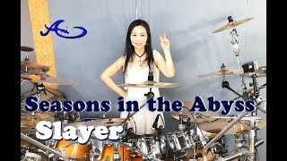 Slayer - Seasons in the Abyss drum cover by Ami Kim (#61)