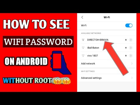 How To See The WiFi Password on ANY Android Phone Without