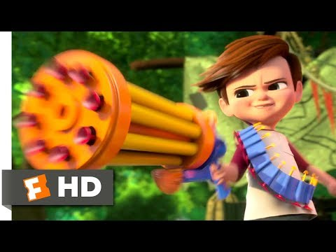 The Boss Baby (2017) - Tim vs Baby Gang Scene (3/10) | Movieclips