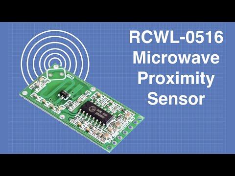 RCWL-0516 Microwave Proximity Sensor - With & Without Arduino