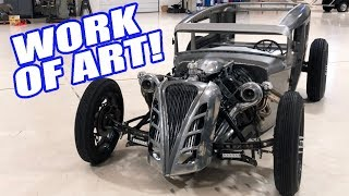 Dynoing & Ripping This Twin Turbo Coyote Rat Rod!