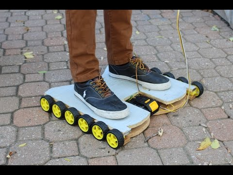 How to Make a Simple Homemade Hoverboard