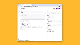 How do I send my students a quiz in Google Classroom?
