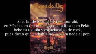 Mägo de Oz - Tequila Mucho Por Vivir (Letra)