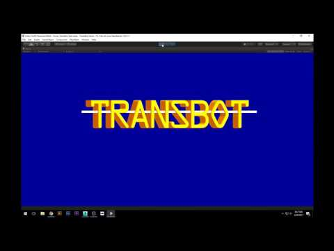 TransBot Project Diary 02 - Unity Game