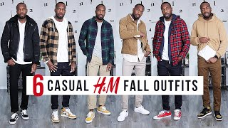 6 CASUAL H&M OUTFITS IN STORES NOW | Mens Fashion & Outfit Inspiration | I AM RIO P.