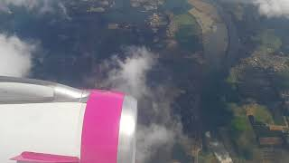 preview picture of video 'Eindhoven Airport landing 60fps'