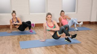 HIIT Workout to Burn Calories and Tone Your Abs| Class FitSugar by POPSUGAR Fitness