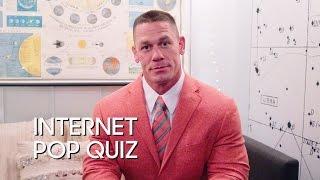 Internet Pop Quiz with John Cena
