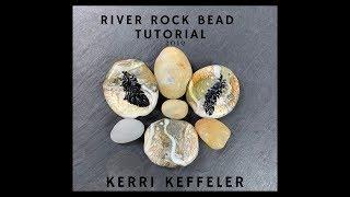 Lampwork Tutorial River Rock Bead By Kerri Keffeler - Part One - Lampworking For Beginners