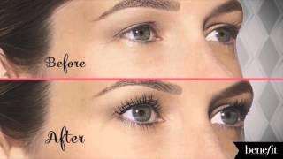 Benefit Cosmetics Roller Lash Mascara Before & After | Ulta Beauty
