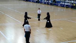2017년 사회인검도대회 중년부개인전 결승. The30th Korea Kumdo Championship for Social Members Final(40th years old)