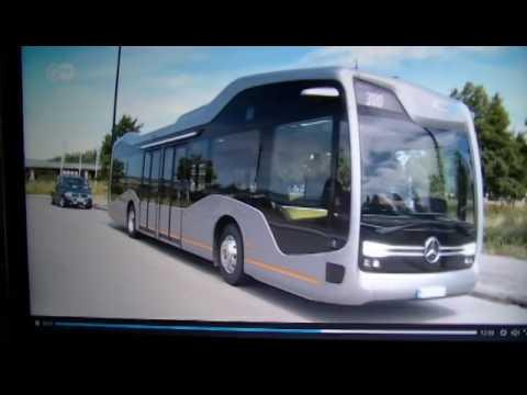 Autobuses sin Conductor Mercedes - Benz