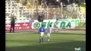 Albacete 5 - Oviedo 0. Temp. 93/94. Jor. 26
