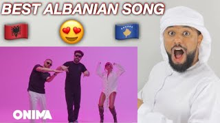 ARAB REACTION TO ALBANIAN MUSIC BY Tayna X Mc Kresha X Lyrical Son   Pasite **AMAZING**