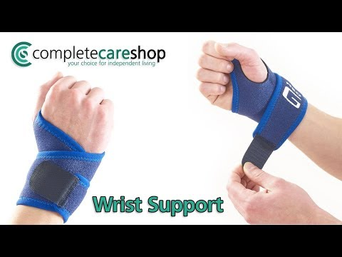 Easily Adjusted Strap Encourages Correct Carpal And Thumb Joint Alignment