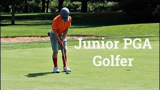 11 Year Old Jr PGA Golfer Plays in 1st Tournament | Ryan in the WILD!