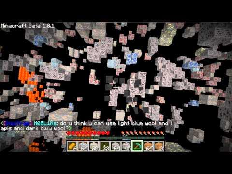 Minecraft 1.8.1 X-ray Fly mod