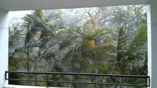 preview picture of video 'Cyclone Bejisa à Sainte-Suzanne'