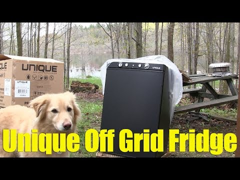 Propane Refrigerator,  Unboxing and Review